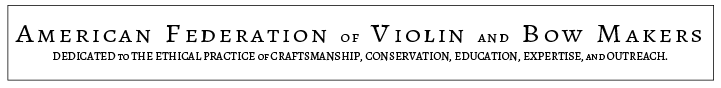 American Federation of Violin and Bow Makers